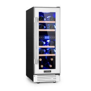 Vinovilla 17 cantinetta frigo per vino a due zone 53l 17 bottiglie 3 colori bianco bianco