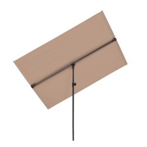 Flex-Shade L Sonnenschirm 130 x 180 cm Polyester UV 50 taupe Taupe | 130 x 180 cm