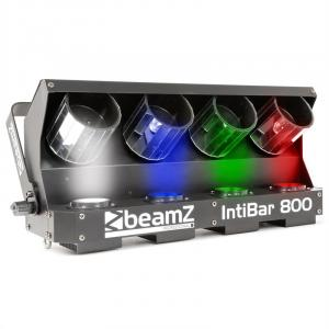IntiBar800 4-Head Barrel 4 x 10W LED DMX