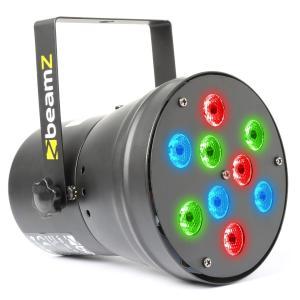 Par 36 Spot 9x 1W RGB LEDs
