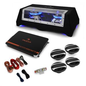 Car HiFi Set 'London' 4.1 System Bass, Speakers, Power Amplifier