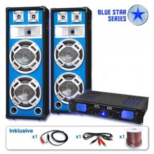 "PA-system Blue Star Series ""Bassveteran"" 1600 Watt"