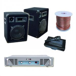 DJ PA Amplifier 800W 2 x Speakers 1 x Amplifier 1x Microphone