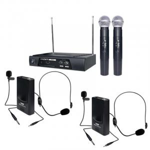 """All-Rounder"" Wireless Microphone 174.1, 174.5 MHz Set"