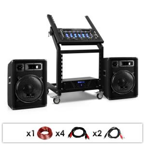 DJ PA Set Rac Star Series Pluto Gravity 200 Personen