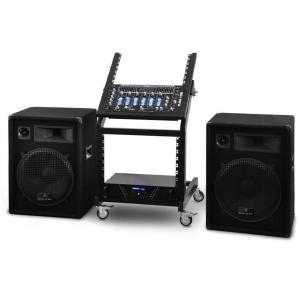 Complete DJ PA Set - Rack Star Series 'Venus Bounce' 300 people
