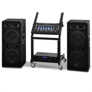 Complete DJ PA Package - Rack Star Series 'Mars Flash' 400 people