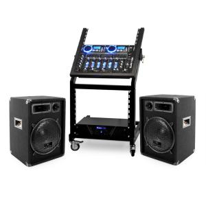 DJ PA Set Rack Star Neptun Palace 250 personer