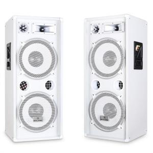 Paar PA-boxen Malone PW-2222 3-wegs luidsprekers 2000 W