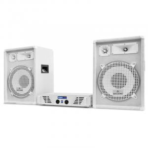 "DJ PA set ""Arctic Winter"" uit de serie White Star 1200W"