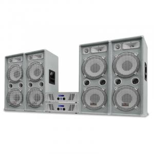"DJ-PA set White Star serie ""Arctic Ice Pro"" 4000W"