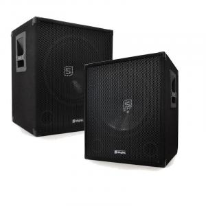 "15"" Active DJ PA Subwoofers 1200W Pair"