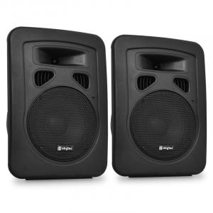 "8"" Passive DJ PA Speaker 2-Way ABS 600W Set"
