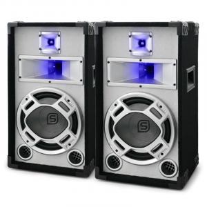 Par de Altavoces pasivos PA bass reflex 2x400W