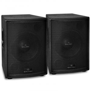 "PW-15A-M Pair of 15"" Active Subwoofer Speakers 4000W Max."