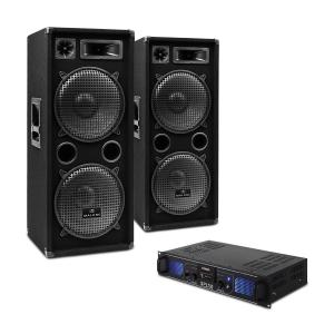 Set DJ-20 2000W amplificatore casse cavi