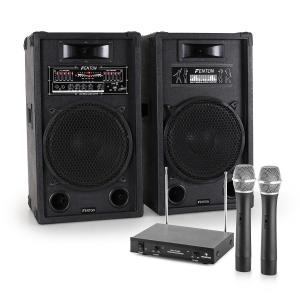 "Karaoke System ""STAR-12"" Active PA Box Set 