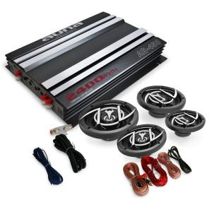 4.0 Car Audio HiFi System 'Platin Line 440' Amplifier Speaker Set