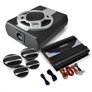 "4.1 Car HiFi Set ""Black Line 560"" Versterker Boxen"
