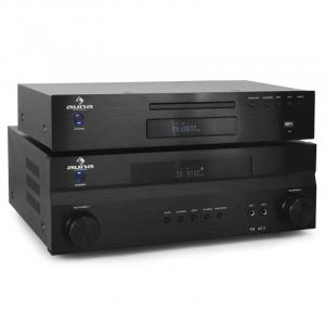 """Supreme Tower"" Auna receptor amplificador home cinema y cd"