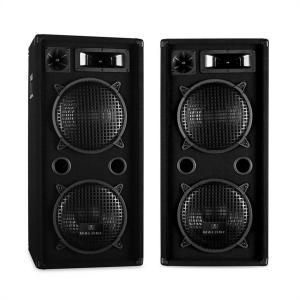 "Pair of Malone PA Speakers 2 x 10"" Inch 1800W DJ Equipment"