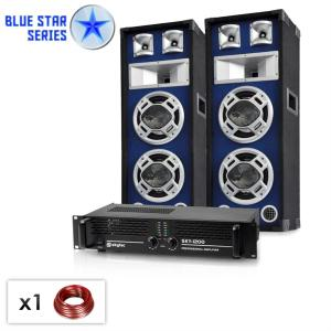 "Set PA Blue Star Series ""Bassboom"" 1600 Watt"