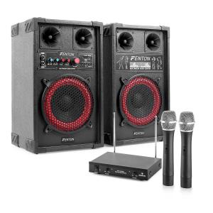 "Karaoke System ""STAR-Mitte"" PA Box Set 400 W 