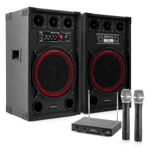 "Karaoke System ""STAR-Kreuzberg"" PA Speakers 800W 