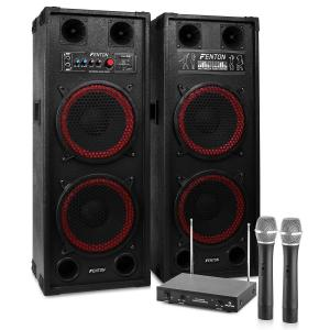 "Karaoke Machine ""STAR-Schöneberg"" PA Speakers 1200 W 1200W 