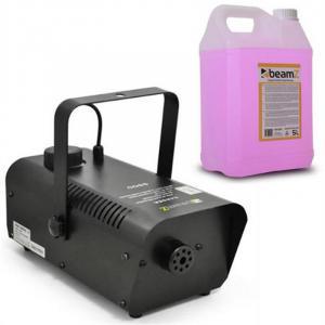 S9000 Máquina de niebla + 5 litros líquido de niebla