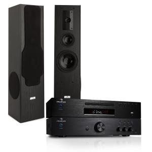 System Hifi - wzmacniacz 600W, odtwarzacz CD MP3 radio