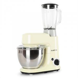 Set Carina Morena 800W Robot de cuisine mixeur 1,5L Crème