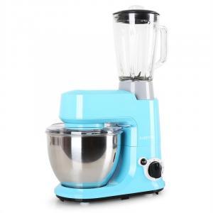 Carina Morena set 800W keukenmachine en blender Krug 1,5l Blauw