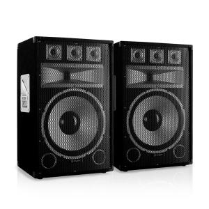 "Skytec TX15 Pair of 38cm (15"") Passive PA Speakers 250W RMS"