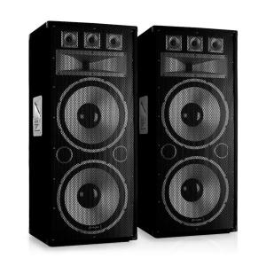 "TX215 Pair 2x38cm (15"") Passive PA Speakers 300W RMS"
