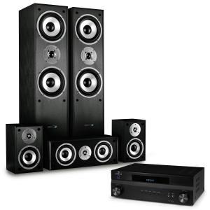 Sistema Home cinema 5.1 1150 W  Set altavoz  y receptor sonido envolvente Hifi
