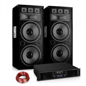 "PA set Saphir Series ""Warm Up Party"" 215PLUS met een paar 2x15"" boxen & versterker"