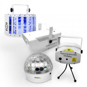 "Ibiza LED Light Effect Set ""White Light Party I"""