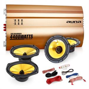 "4.0 ""Golden Race V5"" Set HiFi para coche"