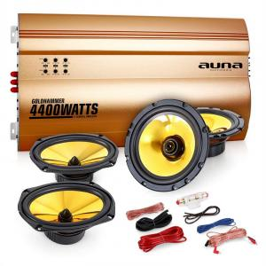 "4.0 Car Hifi Set ""Golden Race V7"""