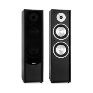 Line 300-BK 2-Way Passive Hi-Fi Tower Speaker Pair 160W RMS Black Black