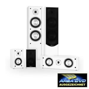 Linie-300-WH 5.0 Home Cinema Altifalantes Surround Soundsystem 265W RMS