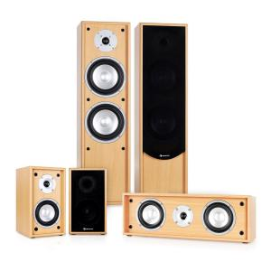 Linie-300-BH 5.0 Soundsystem Home Cinema 265W RMS hêtre