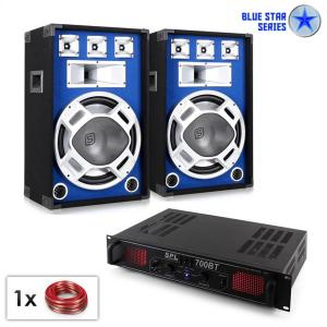 PA Set Blue Star Series 'Basscore Bluetooth' 1000 W