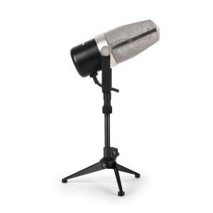 Mikrofon wstęgowy Auna HRM-2 ze statywem stołowym Malone ST-