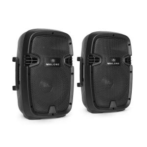 "PW-2108A Pair Active PA Speakers 20cm (8"") 300W"