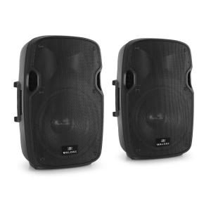 "Pair of Malone PP-2912A Active 12""PA Speakers Monitors 560W"