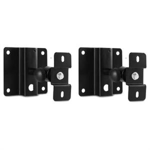 Pair of Malone ST-3 WSS Speaker Wall Mounts Black