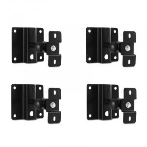 ST-3-WSS 4 x Speaker Wall Holder Black