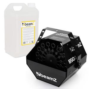 B500 Bubble Machine + 5l Beamz Bubble Fluid